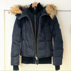 Mackage Romane down bomber jacket, xs